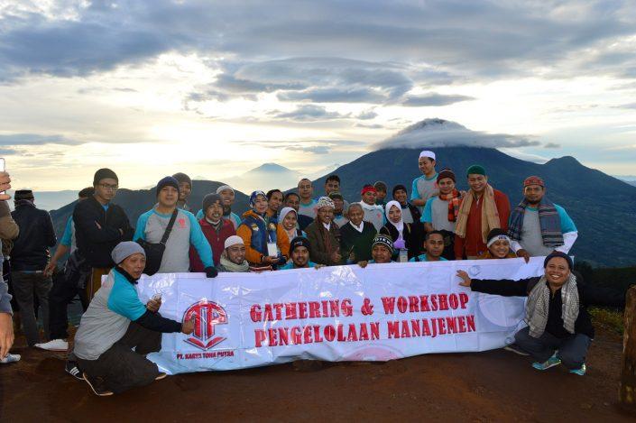 gathering dan workshop pengelolaan manajemen tohaputra
