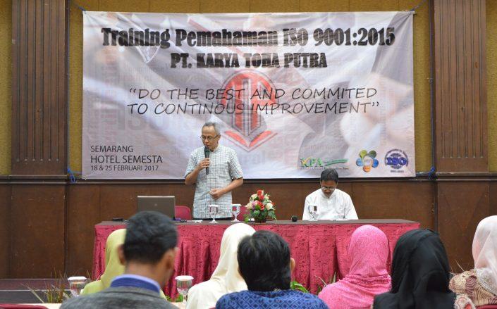 pelatihan ISO 9001 2015 tohaputra